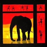 sunset (elephant)
