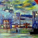 """When Night  Falls / Quebec City"" by RickTodaro"
