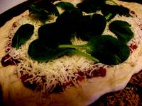 Spinich Pizza
