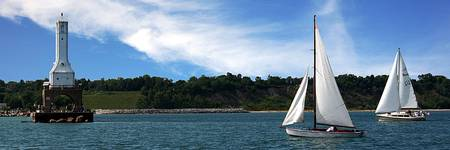 Sailing at Port