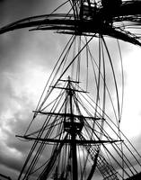 Looking Up Tall Ship