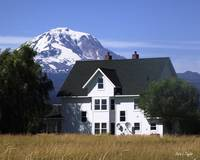 Mt Adams and the House