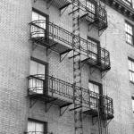 """Fire Escape 2 BW"" by NicoleChampion"