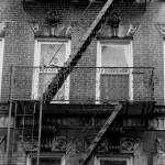 """Fire Escape 1 BW"" by NicoleChampion"