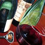 """Three Bottles"" by rlhpainter"