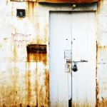 """White and Rust Door"" by valmohney"