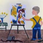 """Kid Painting"" by O_Helga"