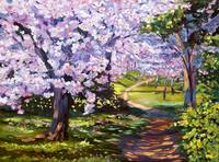 Blossom Season - Plein Air