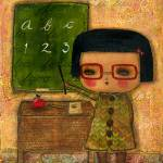 """20100806 The Teacher"" by danitaart"