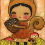 """20100822 A Squirrel"" by danitaart"
