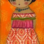 """20100822 La Frida En Rosa"" by danitaart"