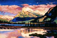 MOUNT RUNDLE BANFF
