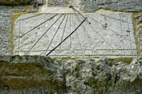 Vertical Sundial on St George's Church, Arreton (2