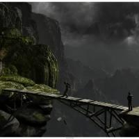 Black Canyon Bridge Art Prints & Posters by max nimos