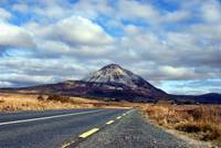 Road to Errigal Mountain Donegal