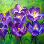 """""""crocus-melody"""" by lagassegallery"""