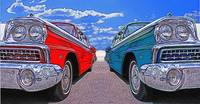1959 Ford Galaxy 500 Side-By-Side