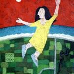"""the drunken dancer"" by mandyevansartist"