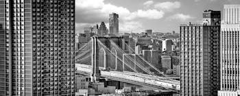 Brooklyb Bridge Framed (rooftop view)