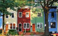 Colorful Houses in Alexandria
