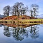 """River Brathay Reflections - The Lake District"" by Dave_Lawrance_Photography"