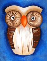 Ula The Wooden Owl