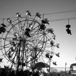"""""""B/W Ferris Wheel"""" by brandislate"""