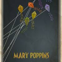Mary Poppins Art Prints & Posters by Megan Romo-Elliker