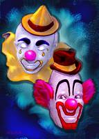 clown duo