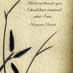 """Zen Sumi 4o Antique Motivational Flower Ink"" by Ricardos"