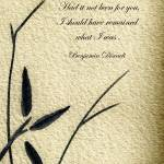 """Zen Sumi 4o Antique Motivational Flower Ink"" by Ricardos"