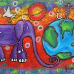 """""""Day and Night On Planet Earth"""" by juliryan"""