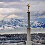 """provo Temple shot from above 2"" by houstonryan"