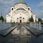 """St Sava Cathedral, Belgrade"" by lju"
