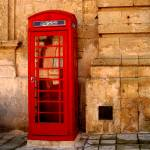 """Red phone booth, Malta"" by lju"