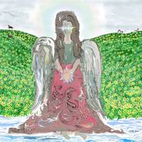 Angel Wading In Water