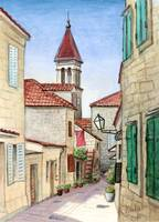 Croatian old street