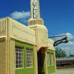 """Route 66 - Conoco Tower Station"" by Ffooter"