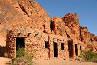 Stone Cabins at Valley of Fire State Park