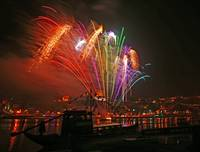 Fireworks on the Rio Duoro