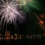 """Fireworks at the Olympia Lake Fair, Olympia Washin"" by Jackies-world"