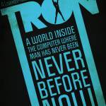 """Tron Movie Poster"" by RickEagles"