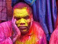 colour face