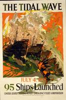 WW 1 SHIPPING POSTER