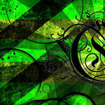 """Green"" by eatenbyrobots"