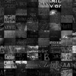 """Ancient names fragments - Jewish cemeteries"" by jaceklidwin"