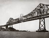 Bay Bridge Construction, Last Section by WorldWide Archive