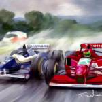 """F1 in the Rain"" by ArtbySachse"