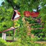 """Last Days of the Tobacco Barn - Amos Park"" by ShelleyKoopmann"