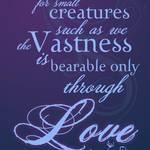 """The Vastness of Love"" by 2dogstudio"